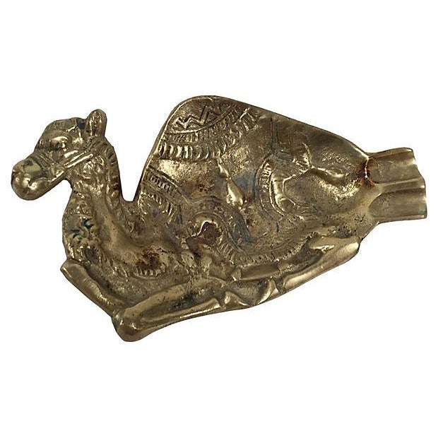 Image of Brass Camel Catchall