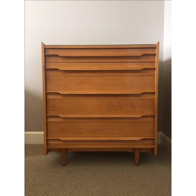 Mid Century Modern Crawford 5 Drawer Dresser Chairish