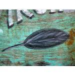 Image of Virginia Sweet Leaf Tobacco Advertising Sign