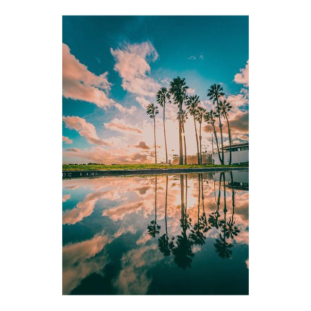 Cabrillo Beach Reflections Color Print By Jason Mageau
