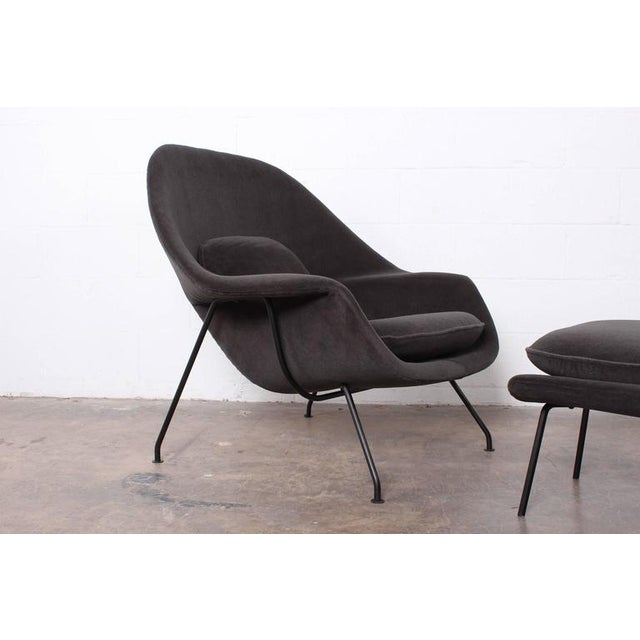chair and ottoman sets early womb chair and ottoman by eero saarinen f