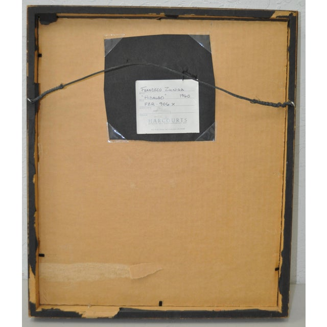 Francisco Zuniga (1912-1998) Original Pen & Ink - Image 6 of 7