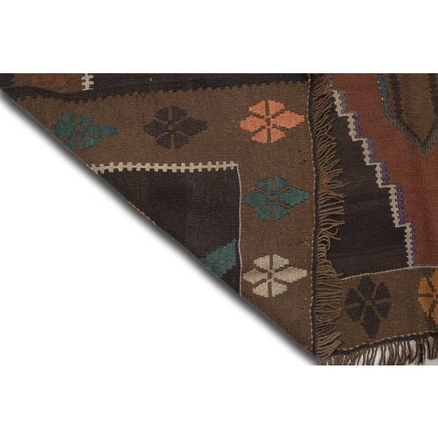 "Hand-Woven Turkish Kilim Rug - 6'7"" X 11'3"" - Image 8 of 10"