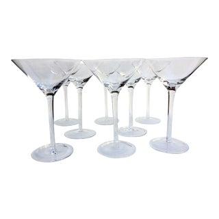 Vintage Martini Glasses - Set of 8