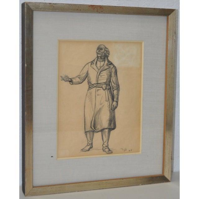Francisco Zuniga (1912-1998) Original Pen & Ink - Image 2 of 7