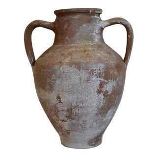 Small Antique Amphora Greek Pottery