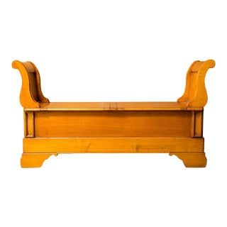 French Cherry Trunk Bench