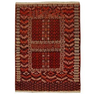 Early 20th Century Turkmen Prayer Rug