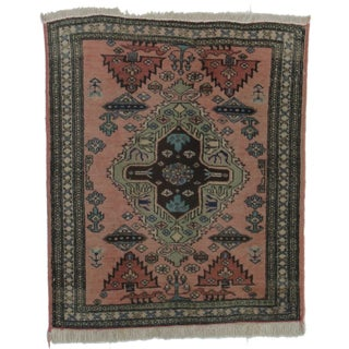 RugsinDallas Hand-Knotted Persian Ardebil Rug - 2′8″ × 3′2″