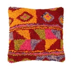 Image of Colorful Boho Chic Tulu Carpet Pillow