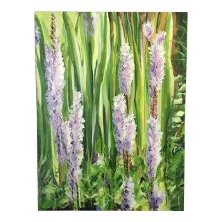 Long Tall Petals Acrylic Painting