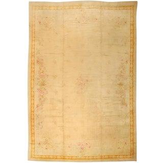 Antique 19th Century European Savonnerie Carpet