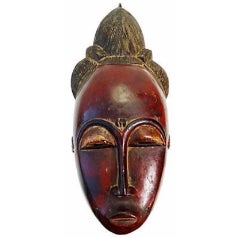 African Baule Female Mask