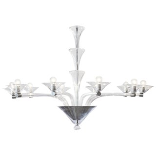 Modernist Customizable Murano Glass Chandelier