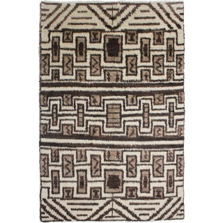 """Hand Knotted Navajo Rug - 8'9"""" X 6'"""