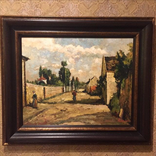 Image of JC Fine Arts European Village Painting