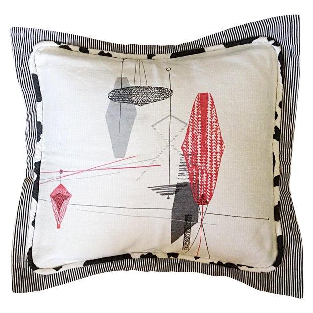 Midcentury Decorative Pillow Sham - Image 1 of 4