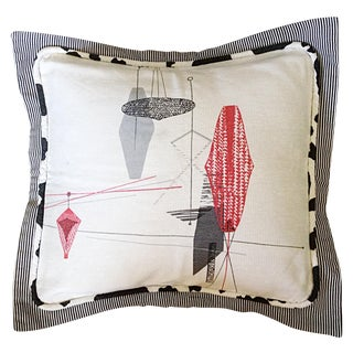 Midcentury Decorative Pillow Sham