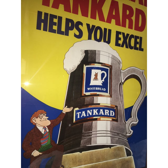 Original English Whitbred Tankard Ales Poster - Image 6 of 11