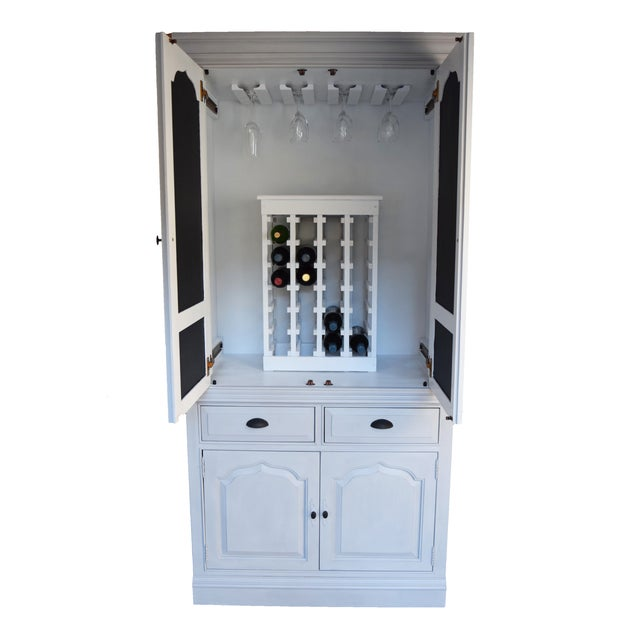 Traditional Home Bar Cabinet - Image 2 of 11