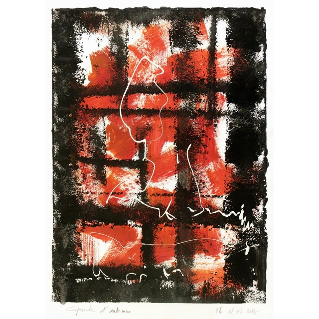 "Jacques Alary ""Crepuscule"" Abstract Painting, 2013 - Image 1 of 4"