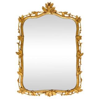 Milch & Son Gilded Oak Leaf Mirror