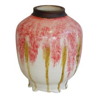 Mid-Century Modern Studio Art Pottery Ginger Jar