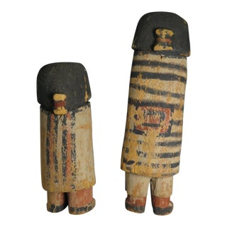 "Very Rare Native American Hopi Kachina's ""Chiefs"""