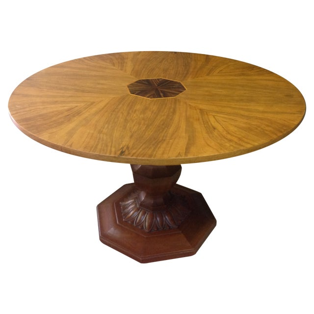 Image of Antique Lazy Susan Table