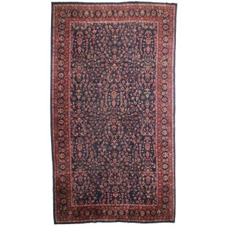 "RugsinDallas Hand Knotted Wool Turkish Rug - 10'8"" X 18'11"""