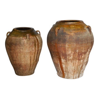19th Century Large Scale Spanish Pots