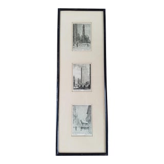 James Swann Chicago Signed Etchings - 3