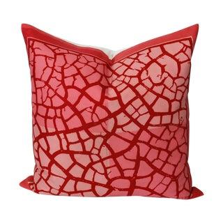 Custom Vera Neumann Scarf Pillow