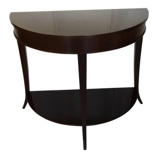 Baker Demi Lune Accent Table