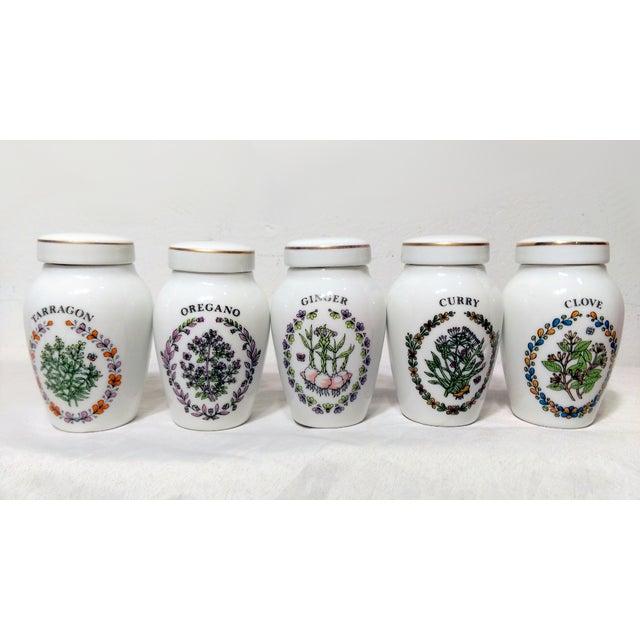 Franklin Mint Spice Jars - Set of 23 - Image 9 of 11