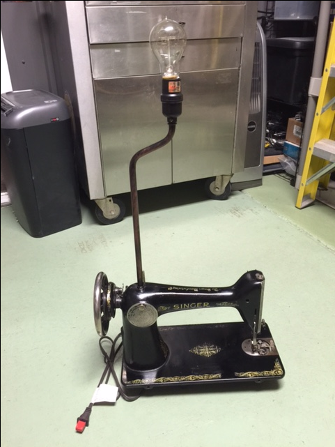 edison sewing machine antique