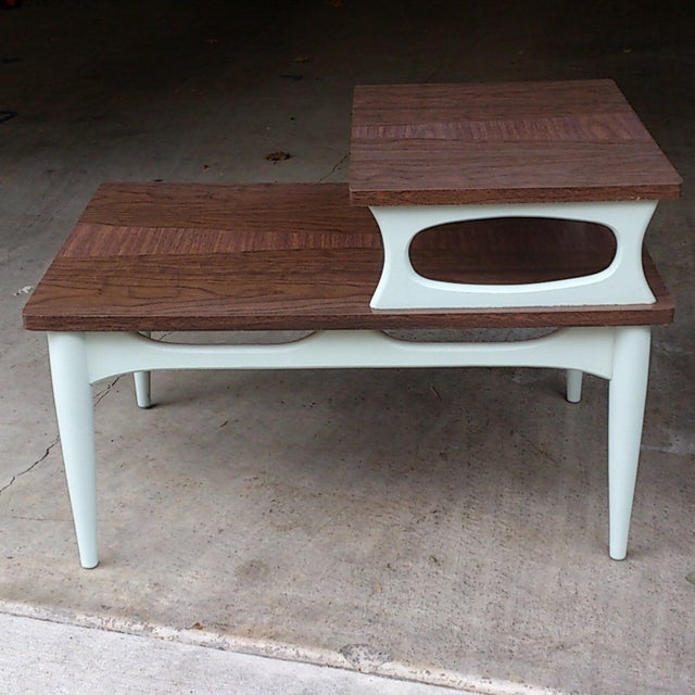 Mid-Century Two Level End Table - Image 3 of 7
