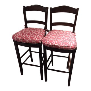 Pottery Barn Kitchen Barstools- A Pair