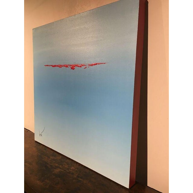 """Image of Vincent Golshani """"Afloat"""" Painting"""