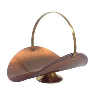 Vintage Fruit Basket by Copper Craft Guild