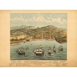 1846 Map of San Francisco Print