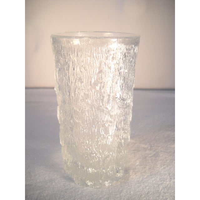 Danish Modern Ice-Textured Glasses - Set of 10 - Image 7 of 8