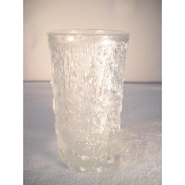 Image of Danish Modern Ice-Textured Glasses - Set of 10