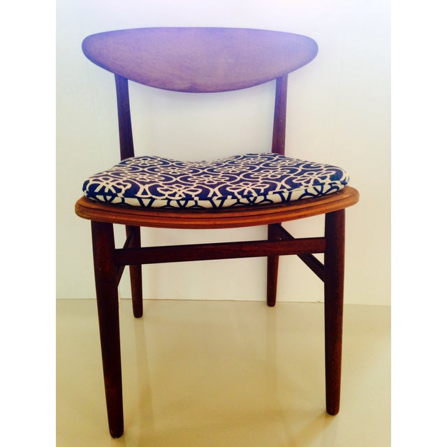 Danish Modern Accent Chair - Signed - Image 2 of 5