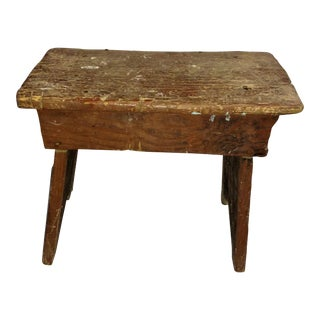 Primitive Cricket Farm Stool