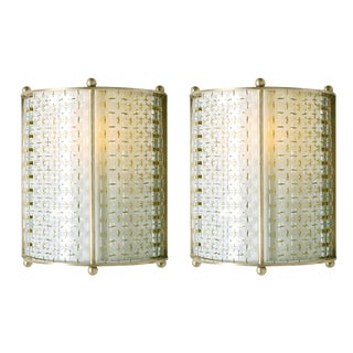 Thomas Pheasant for Baker Bracket Wall Sconces - A Pair