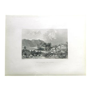 "1883 Antique Print ""Saw Mill"""