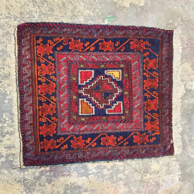"""Vintage Red Persian Rug - 1'11"""" x 2'4"""" - Image 2 of 9"""