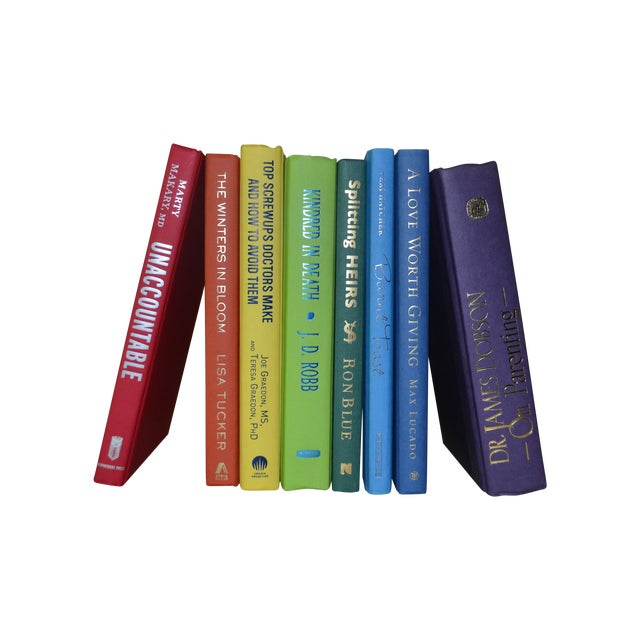 Rainbow Display Books - Set of 8 - Image 1 of 3