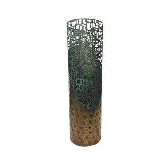 Modern Metal Hurricane Vase